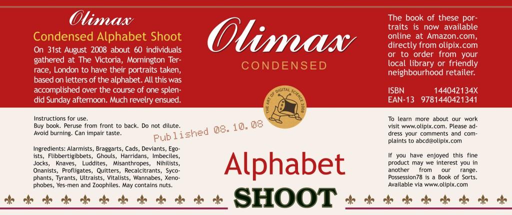 Alphabet Shoot Book promo