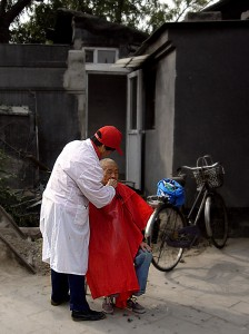 The barber of Beijing